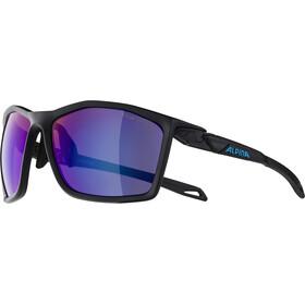 Alpina Twist Five HM+ Brille black matt/blue mirror